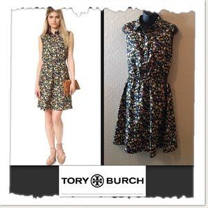 Tory Burch Ryder Floral Print Dress